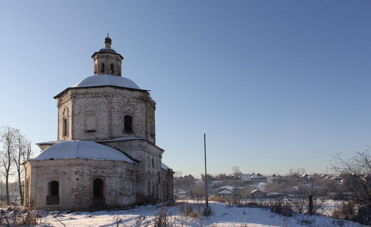 Старопокровская церковь, Верхотурье, Меркушино, храмы Свердловской области