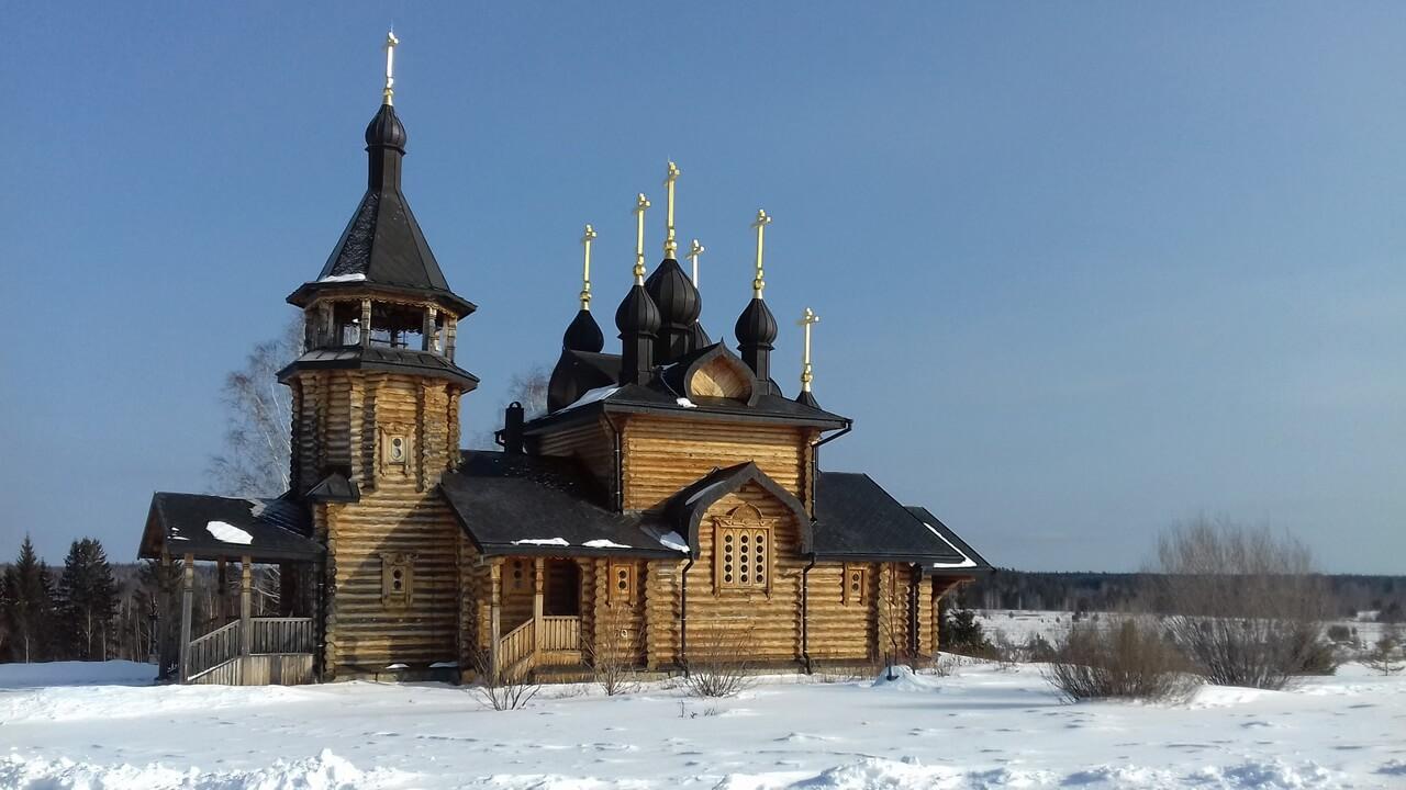Храм всех святых, Верхотурье, Меркушино, храмы Свердловской области