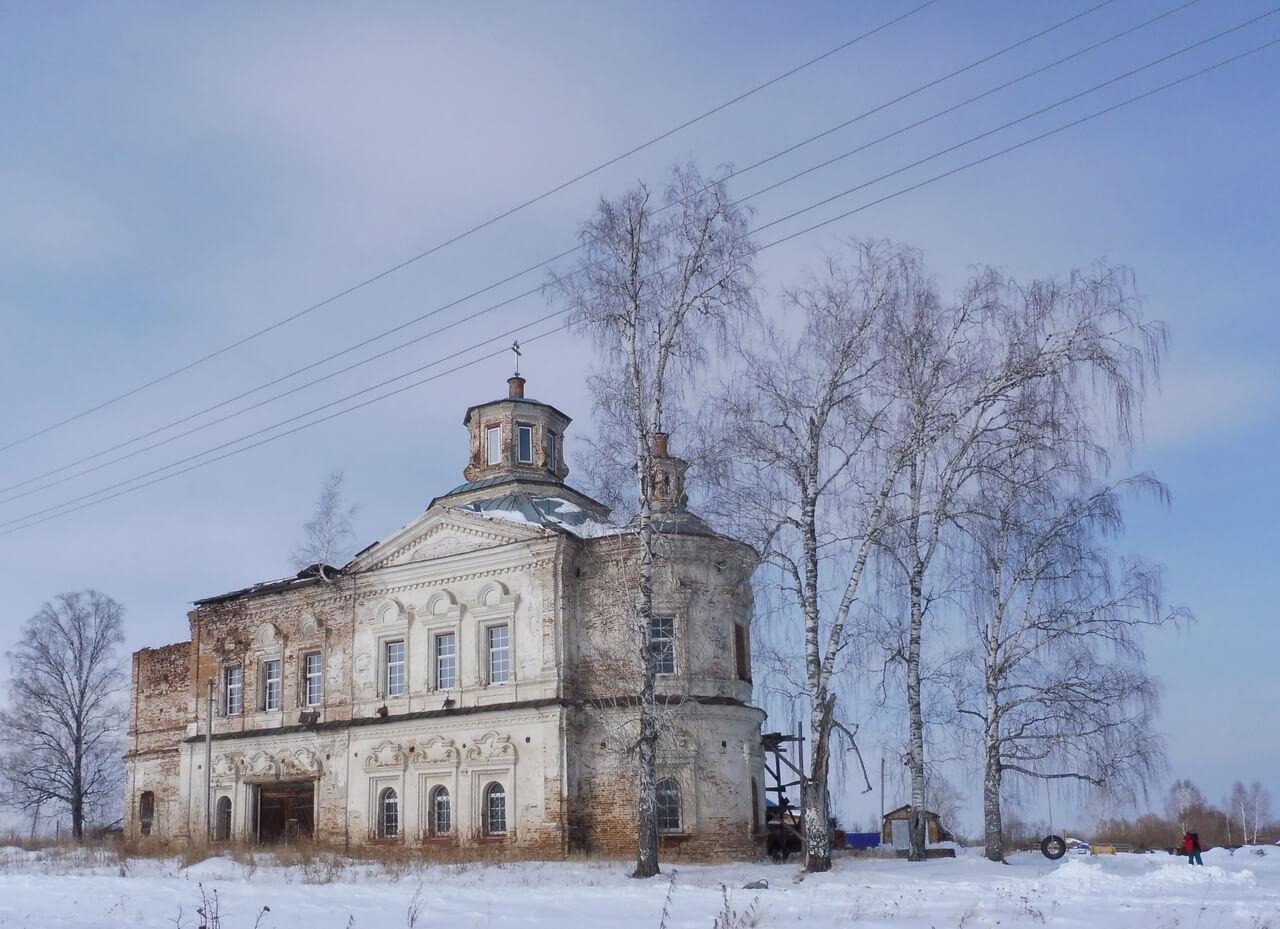 Христорождественская в Дерябино, Верхотурье, Меркушино, храмы Свердловской области