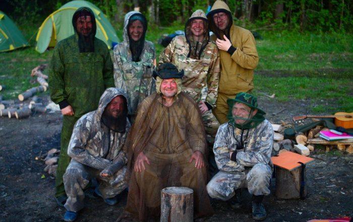 Сплав Вишера Пермский край