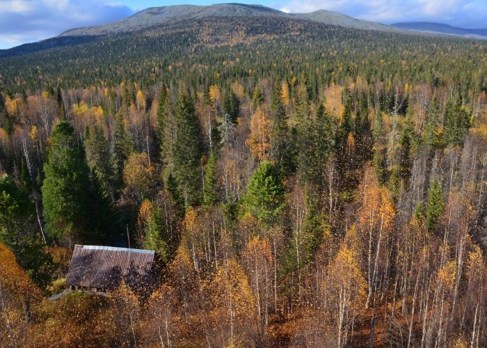 Вишерский заповедник, Пермский край, Осень на Урале
