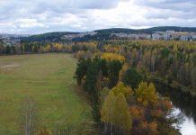 водопад на Косой речке, Нижняя Тура, Свердловская область, Средний Урал