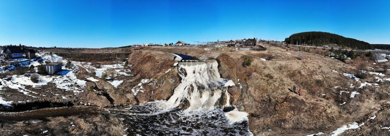 Водослив реке Глинка, Свердловская область