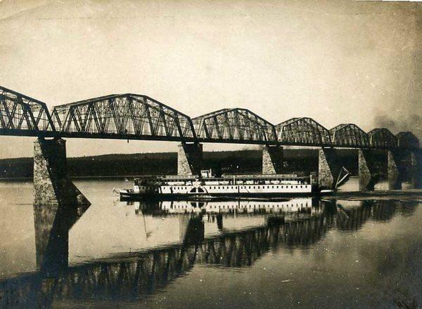 Мост через р. Кама. Автор фотографии - humus777