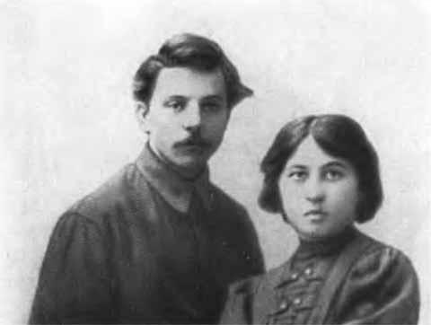 Клим Ворошилов с женой Екатериной. 1913 год