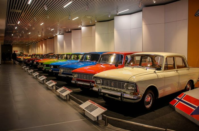 Музей автомобилей, Верхняя Пышма