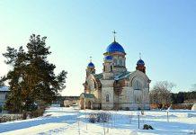 Введенский женский монастырь в селе Верхняя Теча
