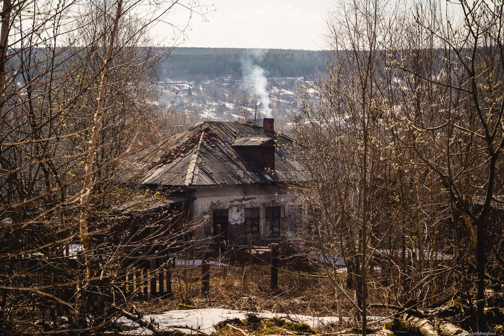 Пермский край, город-призрак, Верхняя Губаха, заброшки Урала, заброшенный город,