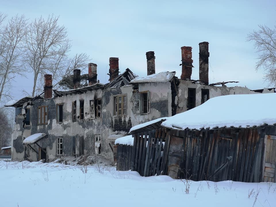 заброшенный дом в пос. Восточный 2