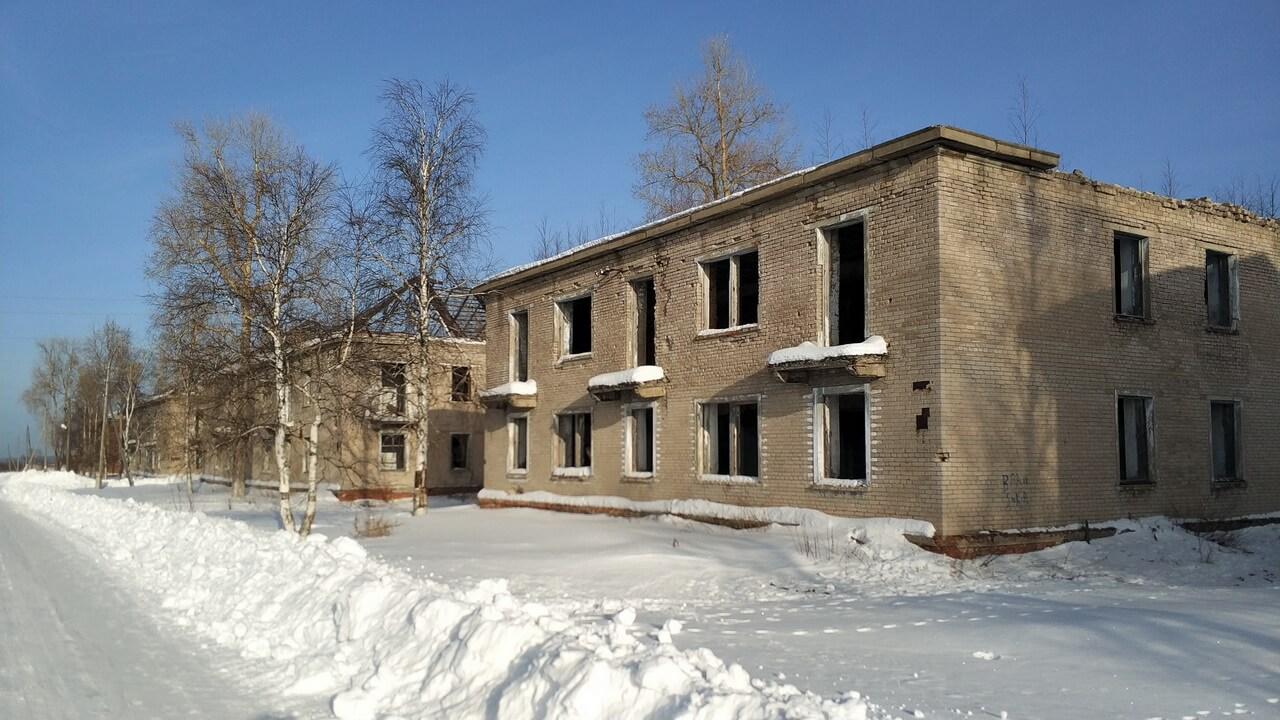 Заброшенные поселки Пермского Края: Юбилейный