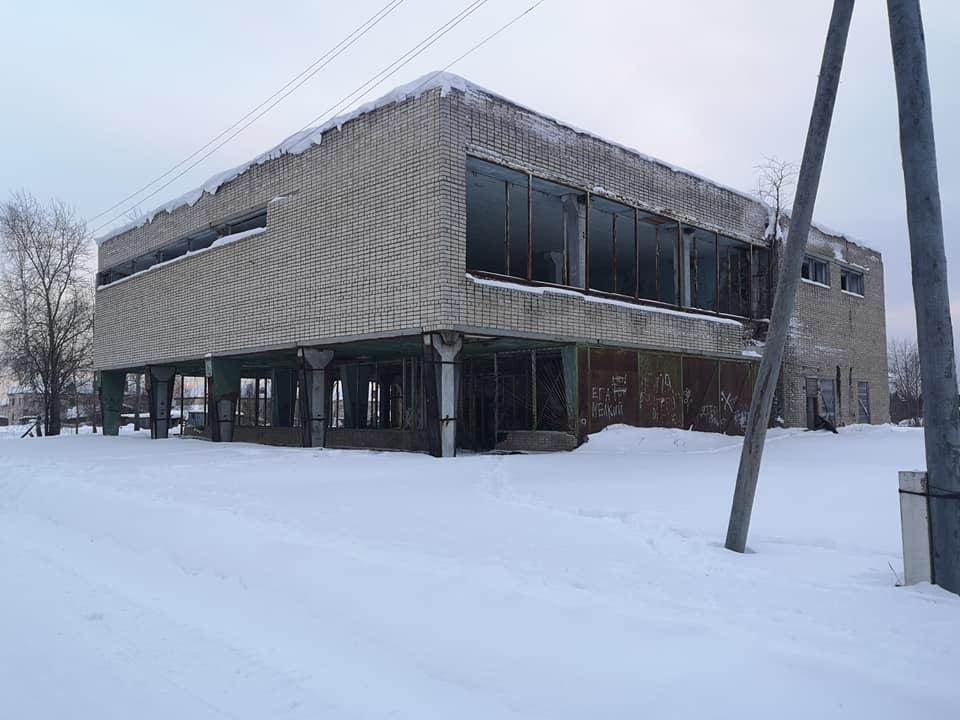 здание в пос. Восточный