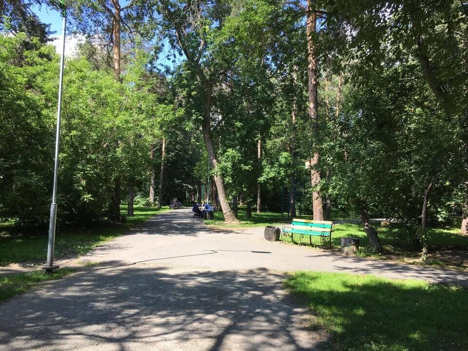 Парк Зеленая Роща, Екатеринбург