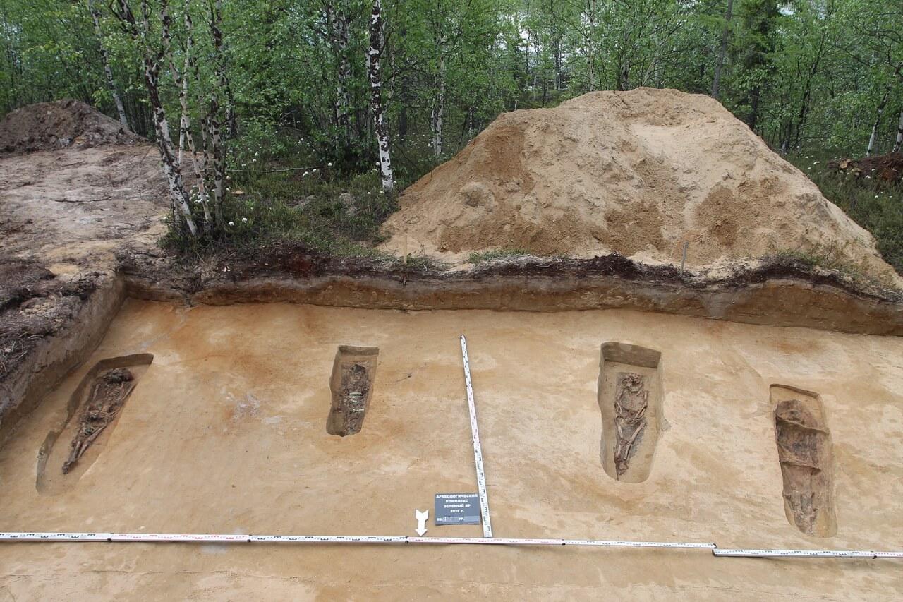 Археологический комплекс у поселка Зеленый Яр