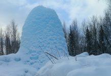 Ледяной фонтан, Зюраткуль