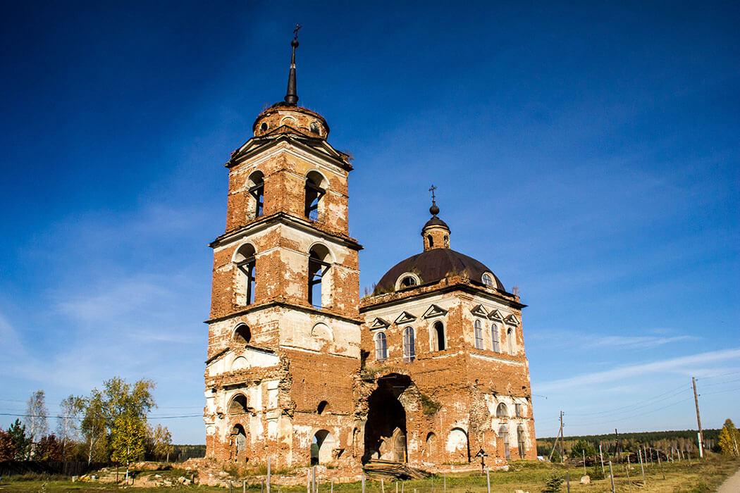 Деревня Смолинская