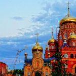 Новый храм иконы Казанской Божье Матери в Оренбурге был освящён в 2018 году