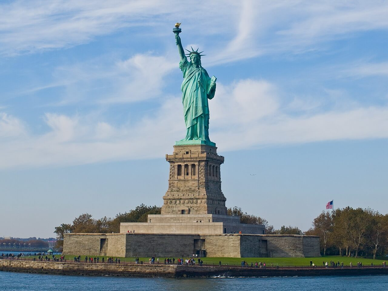 Статуя Свободы в Нью-Йорке